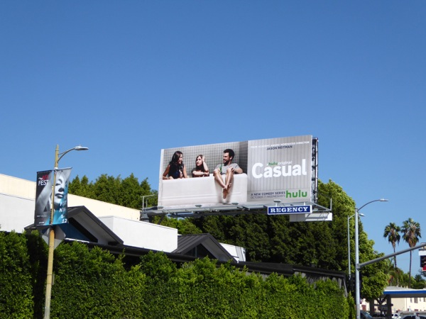 Casual series premiere billboard