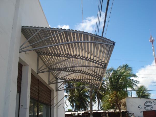 Toldos projetolos 84 3614 1344 toldo estrutura em ferro for Toldos de aluminio