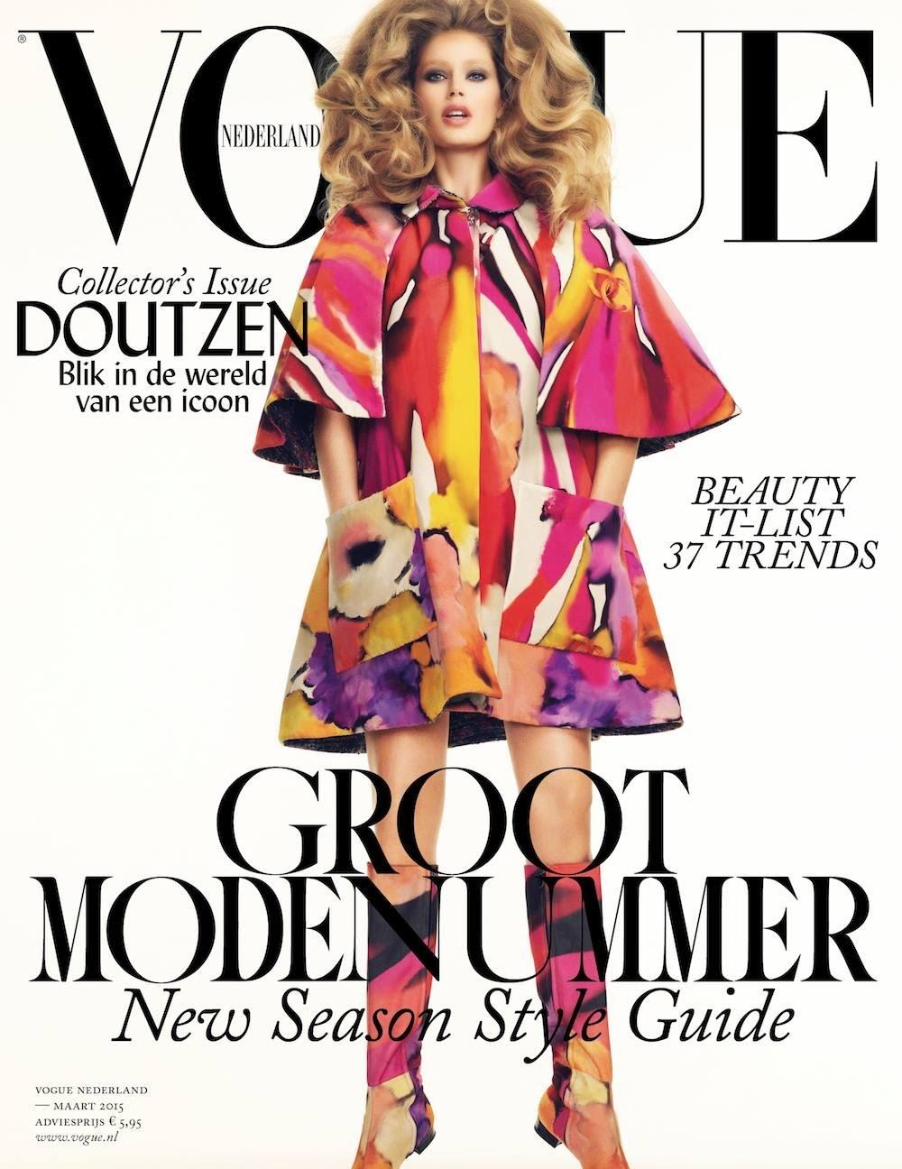 Model, Actress: Doutzen Kroes for Vogue Netherlands