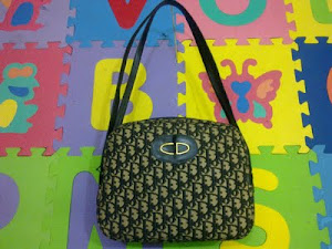 Cristian Dior Classic CD Monogram Logo Handbag(SOLD)
