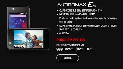 Andromax Es, Smartphone Andromax 4G LTE Terbaru