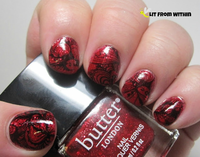 Butter London O.T.T with stamping