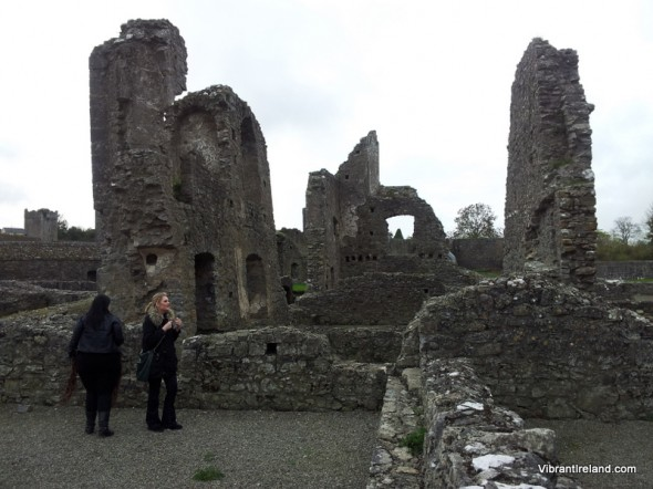 The 11th century ruins of the Augustinian Kells Priory in Co Kilkenny are one of the largest sets of ruins in Ireland.