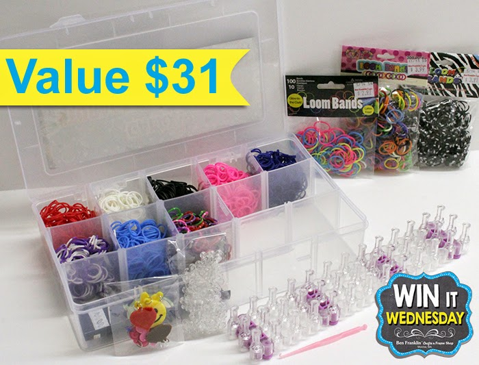 Galaxy Loom Storage and Loom Set valued at $31!