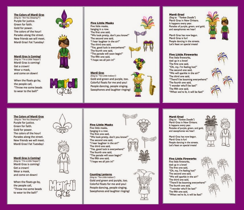 Learning Activities For Kids A Valentine Freebie Valentines – Mardi Gras Worksheets