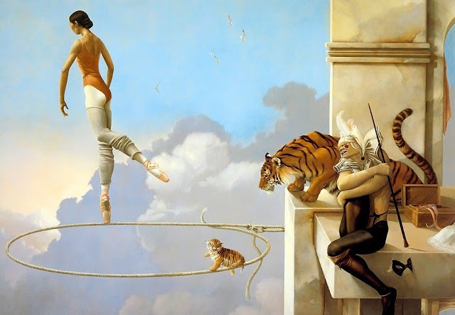 Dream for Rosa,Micheal Parkes,tiger cub