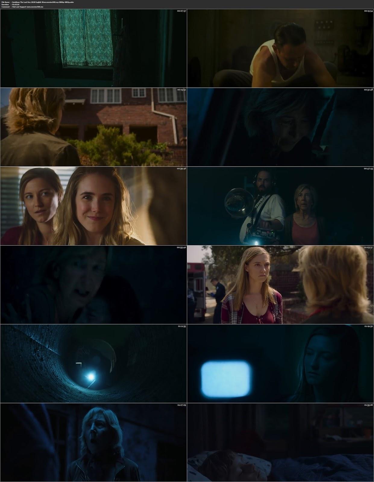 Insidious The Last Key 2018 Hollywood 300MB BluRay 480p ESubs at 9966132.com