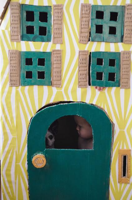 aesthetic fauna // playhouse DIY
