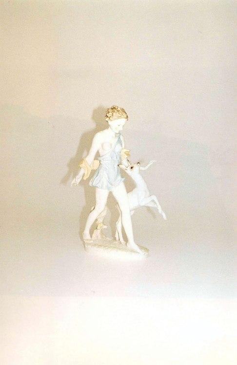 White knickknack by Jurgen Teller