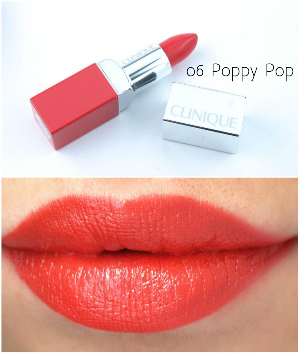06: Clinique Pop Lip Color + Primer Lipsticks: Review And
