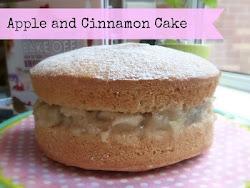 Healthier Apple & Cinnamon Cake
