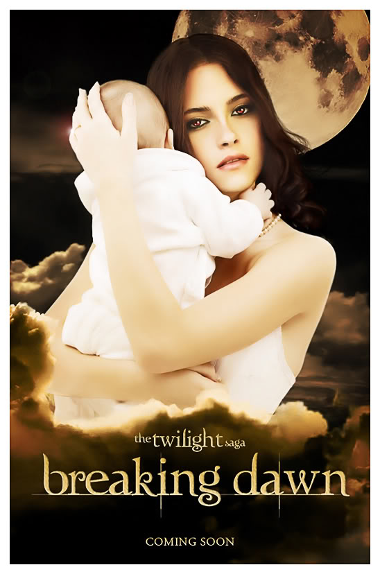 Breaking Dawn  Book Poster