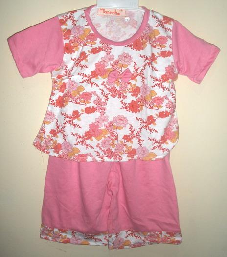 Baju Bayi Perempuan Cute Knitting Baju Anak Perempuan