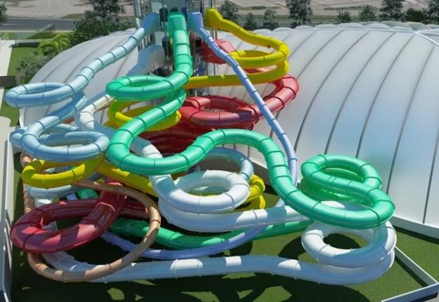 Viaggia con teo acquaworld milano piscina e parco - Piscina al coperto con scivoli ...