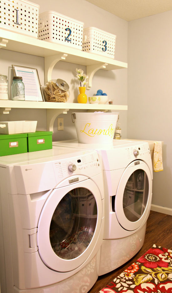 Iheart organizing laundry room update airing our clean - Laundry room organizing ideas ...
