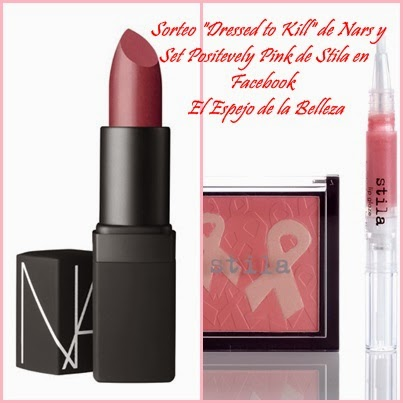 Sorteo exclusivo en Facebook: Nars y Stila!!.