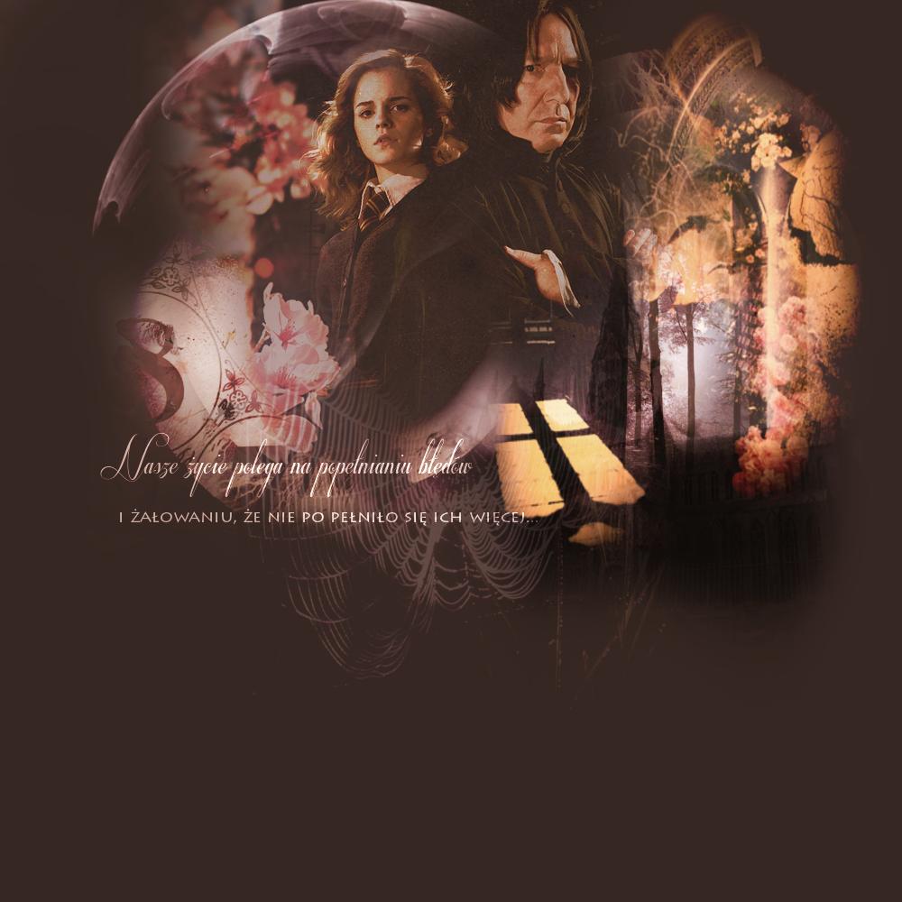 Hermiona i Severus - działa na nią jak narkotyk