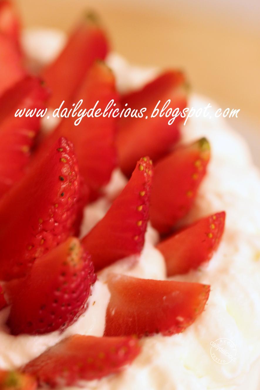 Strawberry Matcha Cake Recipe