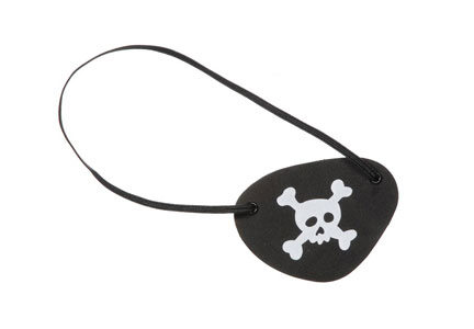 Harry reid eye patch pirate