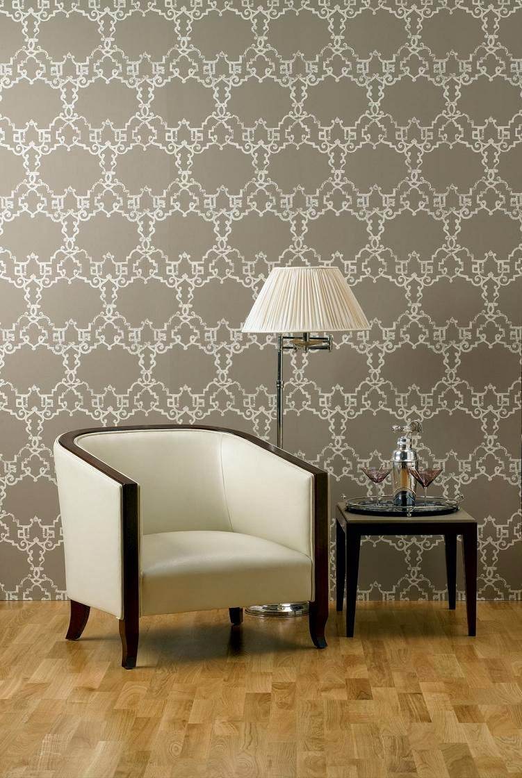 Inside & Out Interiors: Nina Campbell - Luxury Wallpapers