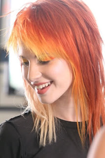 Hayley Williams Orange Hair