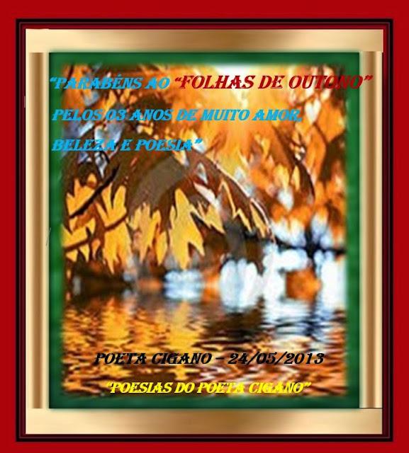 """Mimo para """"Folhas de Outono"""", pelos seus 03 anos de vida."""