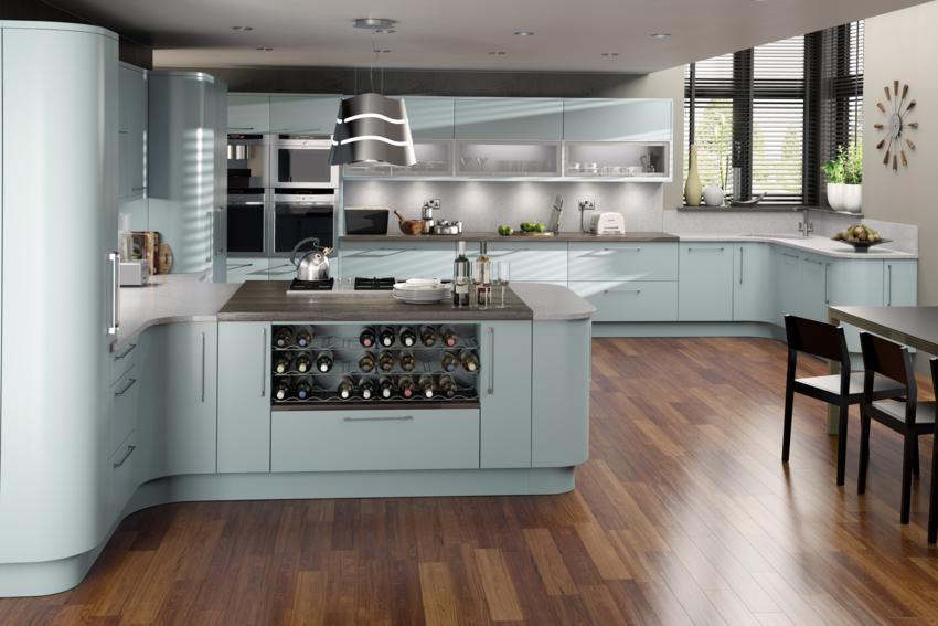 Sweet living wn trza z pasj lord duck egg we w asnej for Duck egg blue kitchen ideas