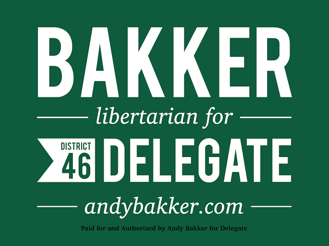 Andy Bakker for Delegate