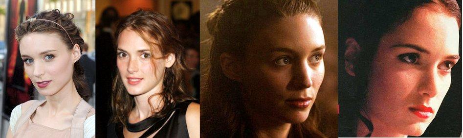 Rooney Mara Winona Ryder