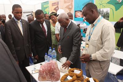 Presidente de Moçambique na Facim 2012