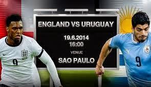 موعد مشاهدة مباراة أوروجواي وإنجلترا بث مباشر 19-6-2014 اونلاين