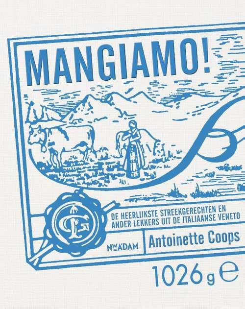 Klik op de cover van Mangiamo! en bestel het boek hier