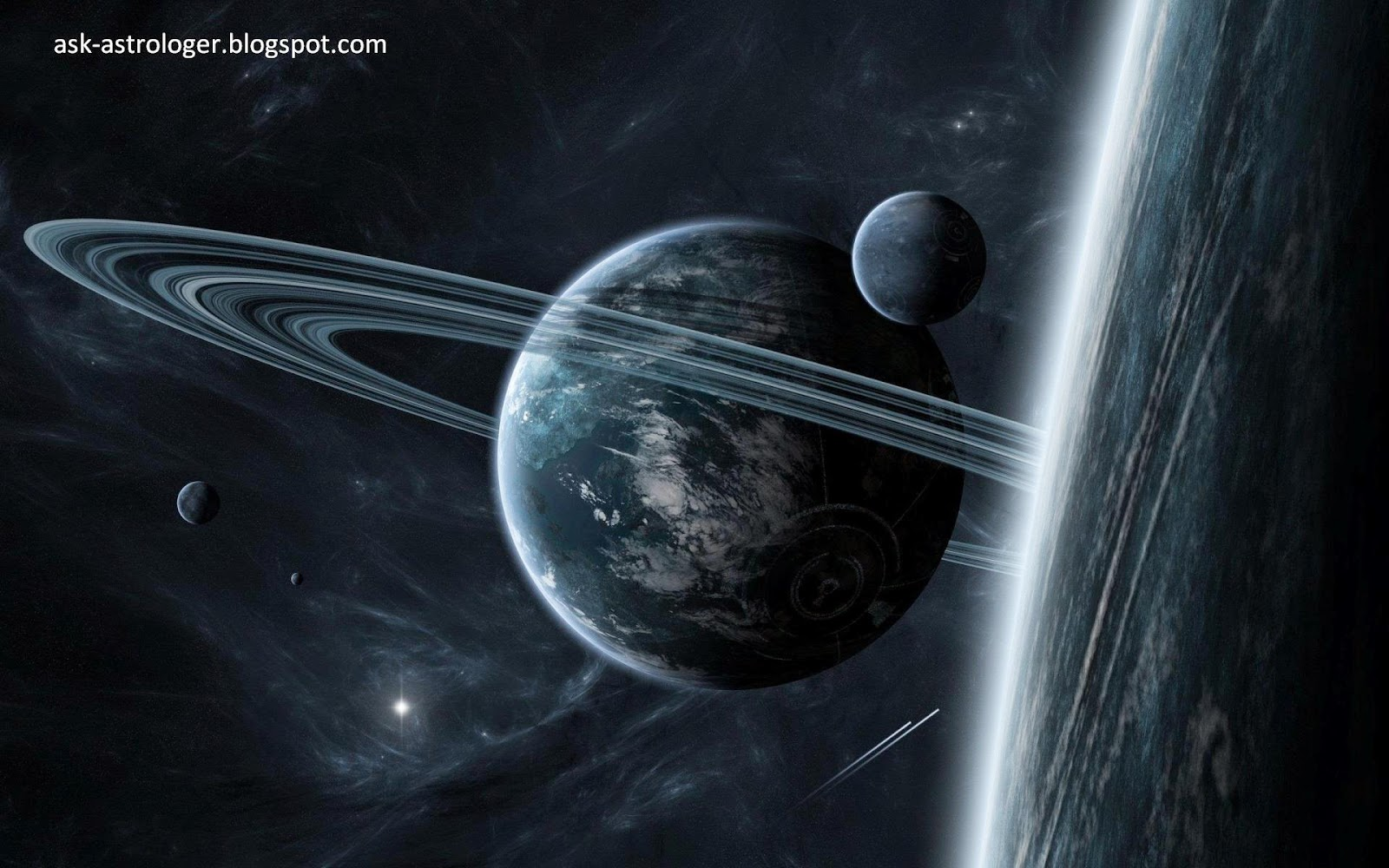 why do some planets have rings?