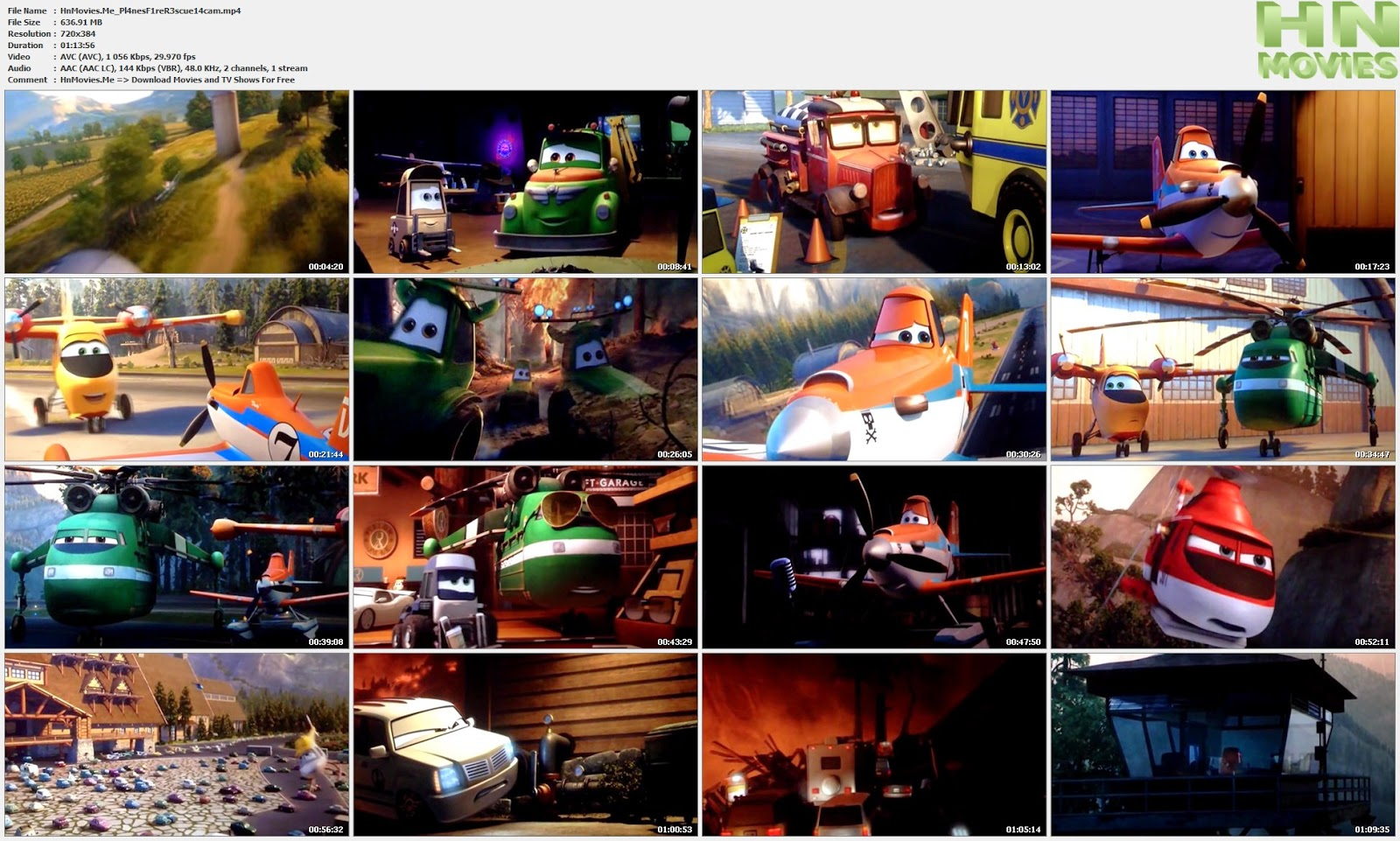 movie screenshot of Planes: Fire & Rescue 2014 fdmovie.com