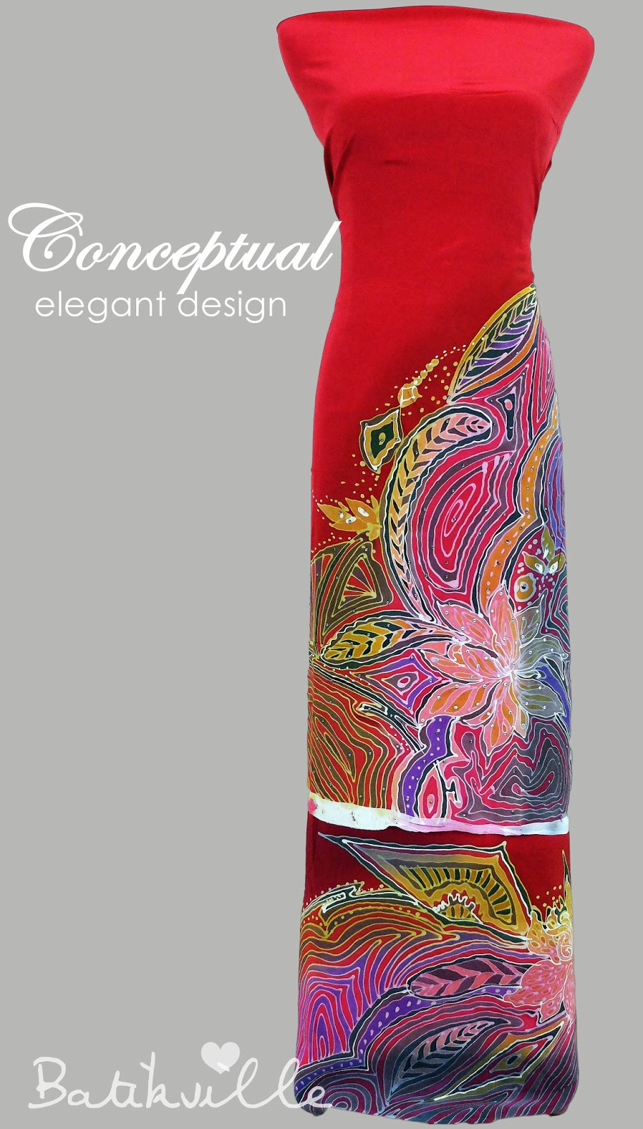 Batik Sutera Crepe