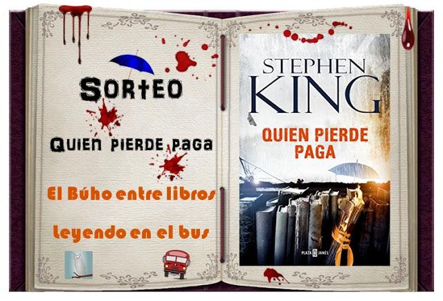 Sorteo Stephen King