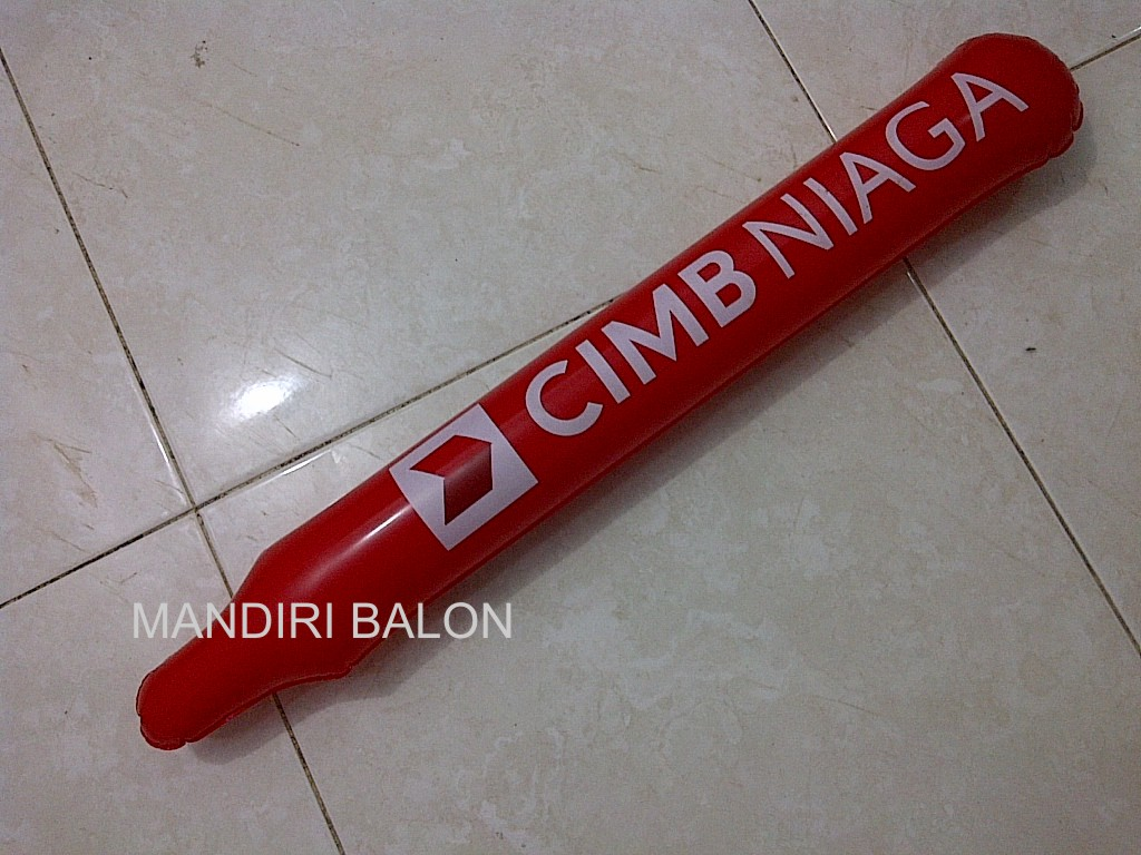 BALON TEPUK Logo CIMB NIAGA