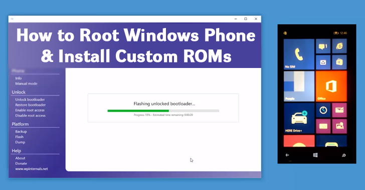 How to Root Windows Phone and Unlock the Bootloader to Install Custom ROM