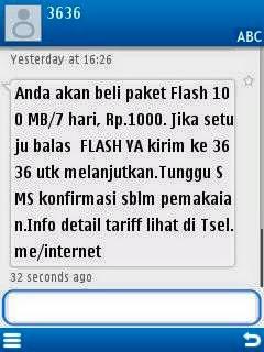 WOW MURAH BANGET !!! Paket Internet Telkomsel 100MB cuma 1000 perak