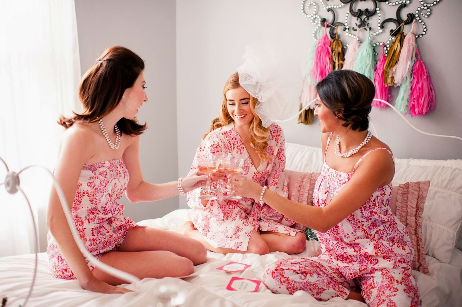 Will You Be My Bridesmaid? - Blush Paper Co & Making Me Events / Phography by Katherine Henry Boudoir