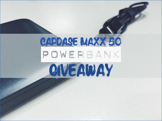 Capdase Maxx 50 Powerbank Giveaway