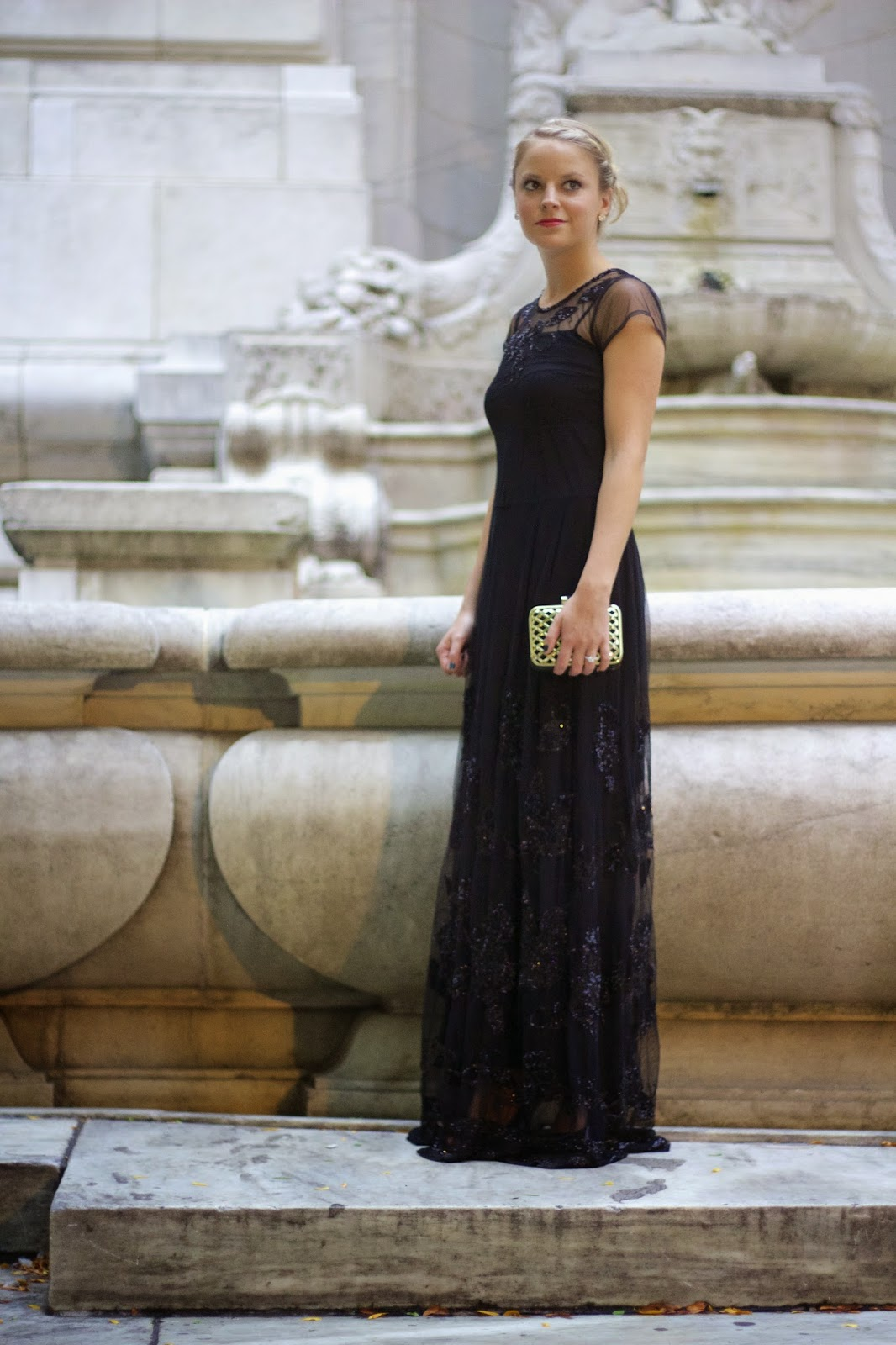 SEQUINED MAXI DRESS - Styled Snapshots