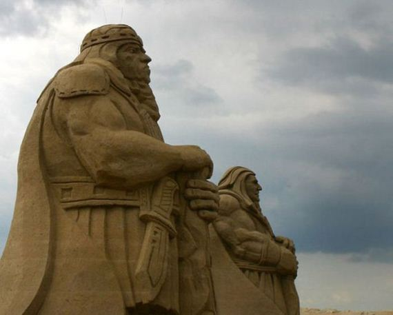 The best sand sculptures in the world for Best art galleries in the world