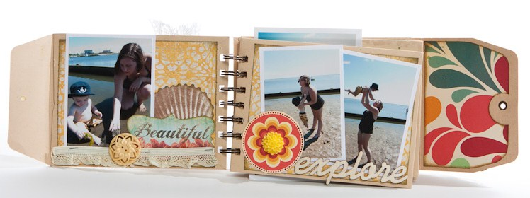 beach themed photo album