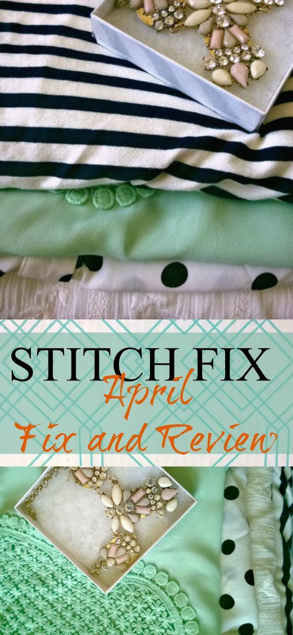 Stitch Fix April Review and Reveal at Creative Mama Messy House