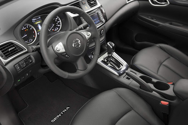 Novo Nissan Sentra 2016 - interior