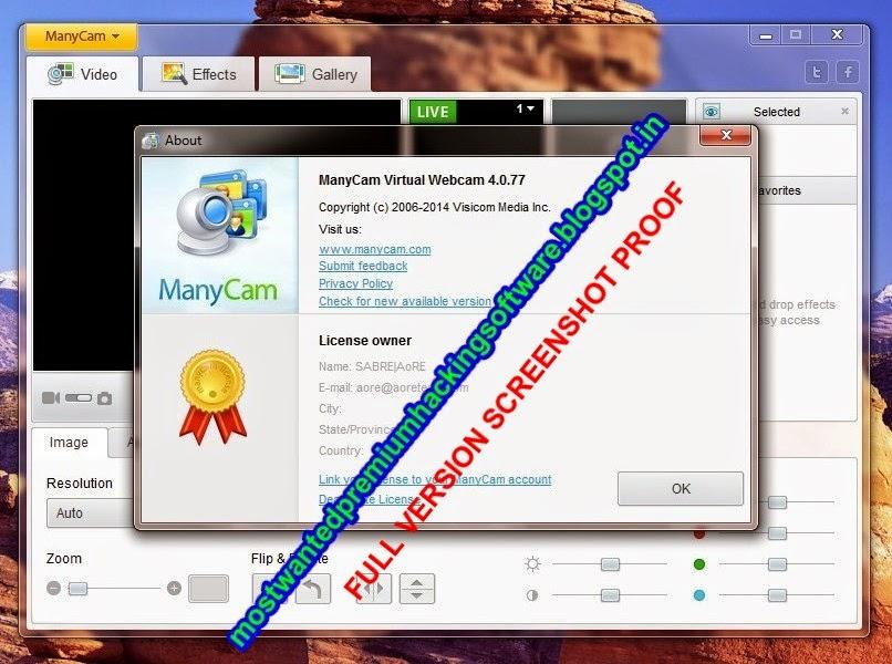ManyCam 4.0.110