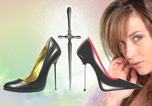 sepatu wanita hak tinggi stiletto