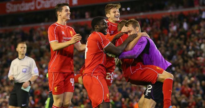 Liverpool Menang Penalti 14 13 Pusingan Kalah Mati malay