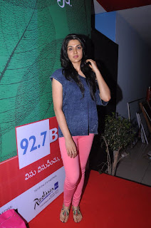 Actress Sakhi Chowdary Pictures in Tight Jeans at Green Ganesh 0012.jpg